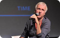 james cameron talks 3d at summit